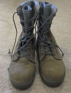 41a6ab3d48d7 Image is loading Belleville-600ST-Hot-Weather-Steel-Toe-Boot-Size-