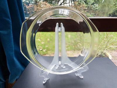 22,8 Cm Rund Glasdeckel Für Auflaufform Simax