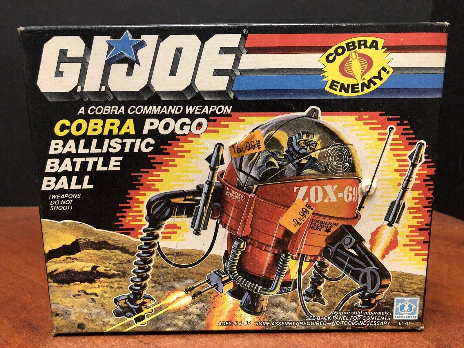 Guijo retro 1987 cobra Bogo balístico de combate sellado dela0183
