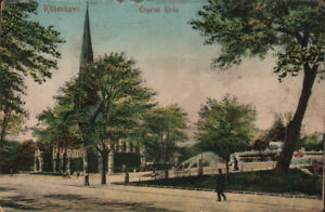 Copenhagen-Kobenhavn-English-Church-Eneret-726-1913-posted