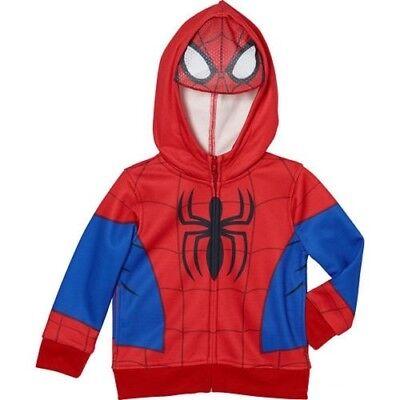 nuovo stile 94aaf c5f07 MARVEL Superhero Felpa con cappuccio Spider-Man Maschera ...