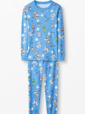 Hanna Andersson 150 Pajamas 12 Buzz Lightyear Toy Story 4 Long John Organic NEW