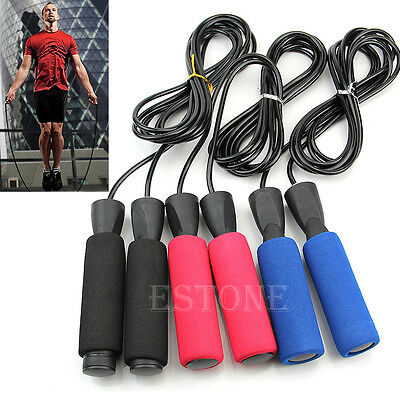 Adjustable Bearing 3M Boxing Skipping Jump Rope Speed Fitness Aerobic Exercise