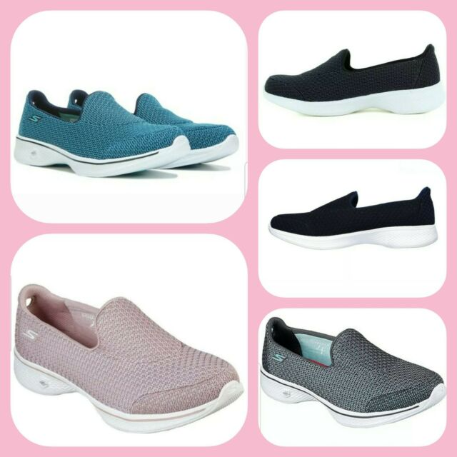 skechers go walk 4 black womens Sale,up