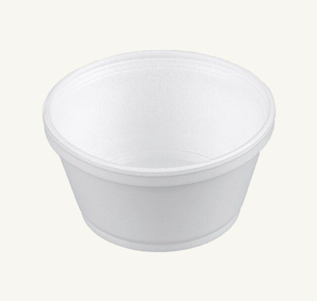 Buy Dart 8sj20 8 Oz White Foam Food Container With Vented Lid Case