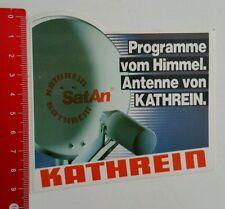 Aufkleber/Sticker: Antenne von Kathrein SatAn (25051645)
