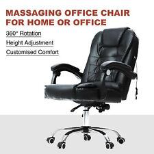 Ergonomic Reclining Massage Office Computer Chair Adjustable Swivel Gaming Chair