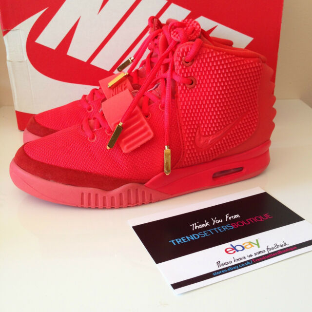 b90e0f383dd89 ... good nike air yeezy 2 red october us 9 uk 8 kanye west 508214 660 legit