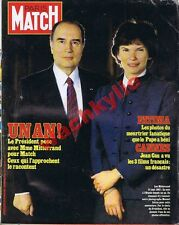 Paris Match n°1722 du 28/05/1982 Mitterrand radiesthésiste Martinique Malouines