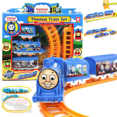 Handcrafted Electric Train Tomas Set Boy Kids Educational Toys Christmas Gift