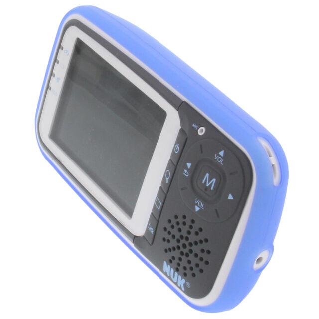 Tasche für NUK Eco Control Babyphone Schutz hülle TPU Gummi Case Bumper blau