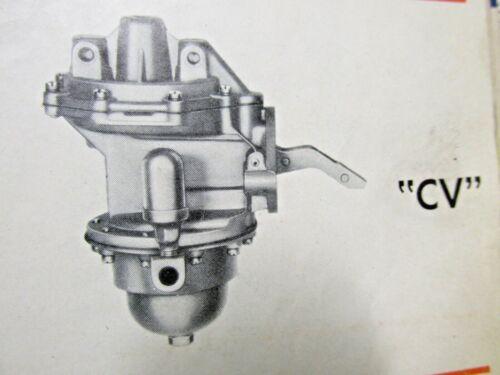 PACKARD AC 9590 UNLEADED FUEL PUMP REBUILD KIT TODAY/'S FUEL 1951 1952 1953 1954