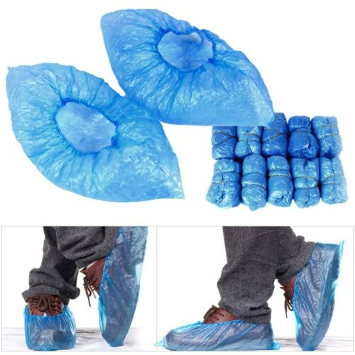 100 Pc Household Rain Waterproof Disposable Shoe Covers Overshoes Boot Covers US
