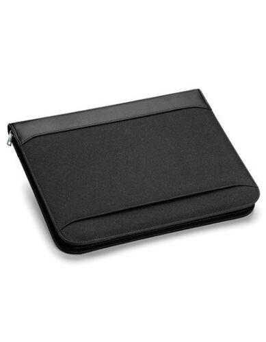 A4-Schreibblock Tasche Stiftehalter Neu Quadra Burbank™ Zipper Portfolio Inkl