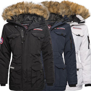 geographical norway alcatras damen winter jacke parka. Black Bedroom Furniture Sets. Home Design Ideas