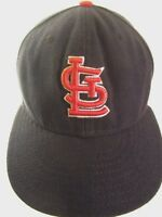 St. Louis Cardinals Hat New Era 59 Fifty Fitted Baseball Cap Size 6 7/8