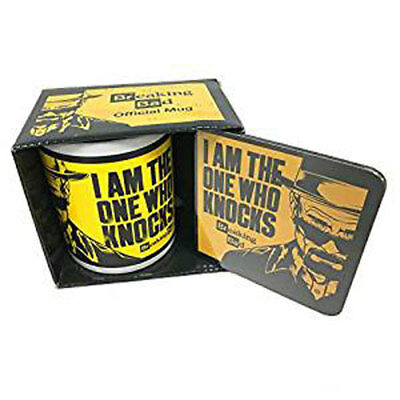 OFFICIAL Breaking Bad I Am The One Who COASTER//DRINKS MAT BY PYRAMID CS00108