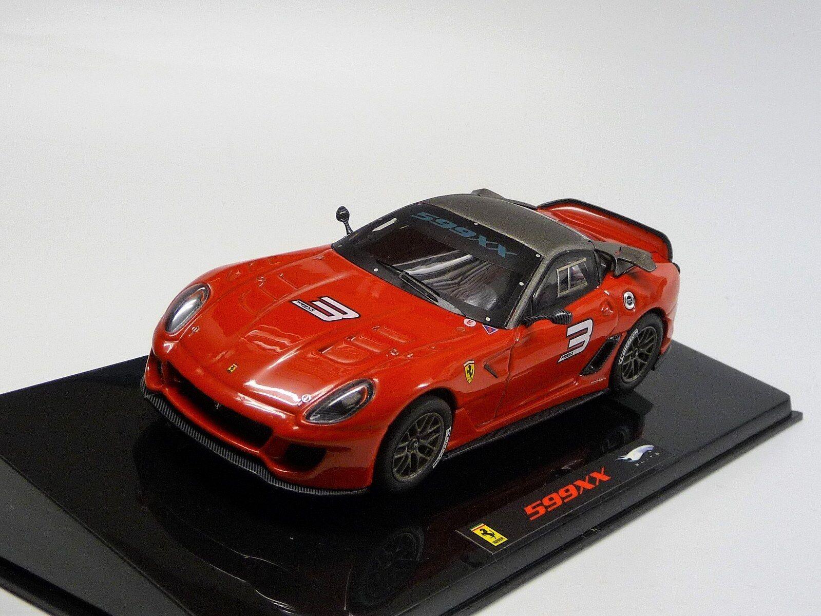 Ferrari 599XX 599XX 599XX No.3 red black  Hot Wheels Elite T6263 Neu in OVP 1 43 73c280