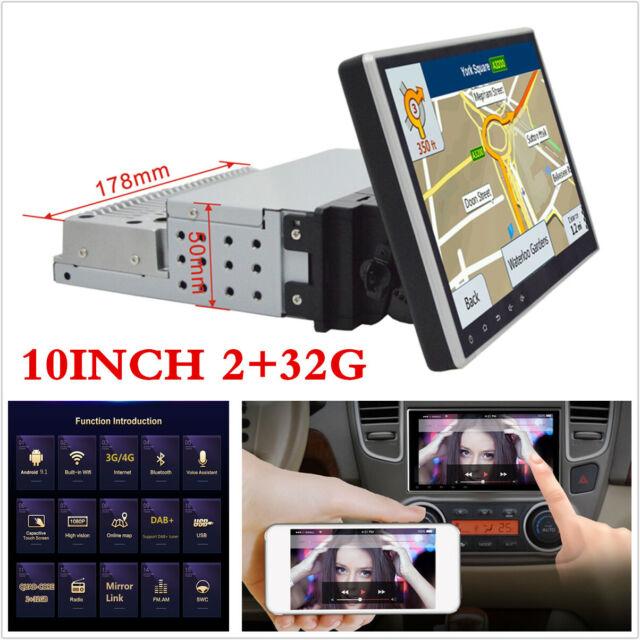 "7/"" Single Din Android 8.1 Car Stereo Radio 2GB 32GB GPS Navigation Wifi DAB BT"