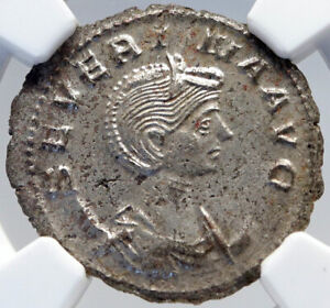 SEVERINA-wife-of-AURELIAN-Authentic-Ancient-275AD-Roman-Coin-NGC-MS-i82600