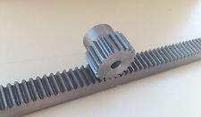 """Rack 1.5 1371mm/53.98""""&20T Gear Pinion CNC Router Plasma Laser Lathe Automation"""