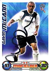 Bolton-Wanderers-F-C-Gavin-McCann-Hand-Signed-08-09-Championship-Match-Attax
