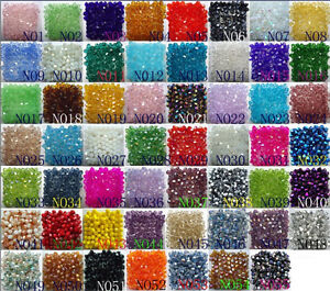 Free-Shipping-100pcs-swarovski-Crystal-4mm-5301-Bicone-Beads