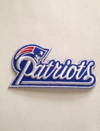 New England Patriots Trikot Abzeichen 9.5cm Gillette Stadion Aufbügeln Jacke