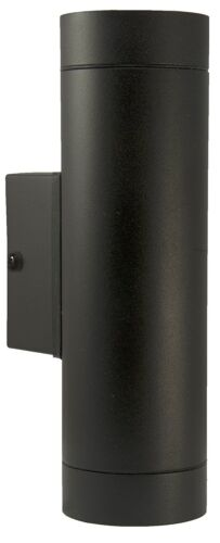 Black Stainless Steel Double Outdoor Wall Light IP65 Up//Down Outdoor Wall Light