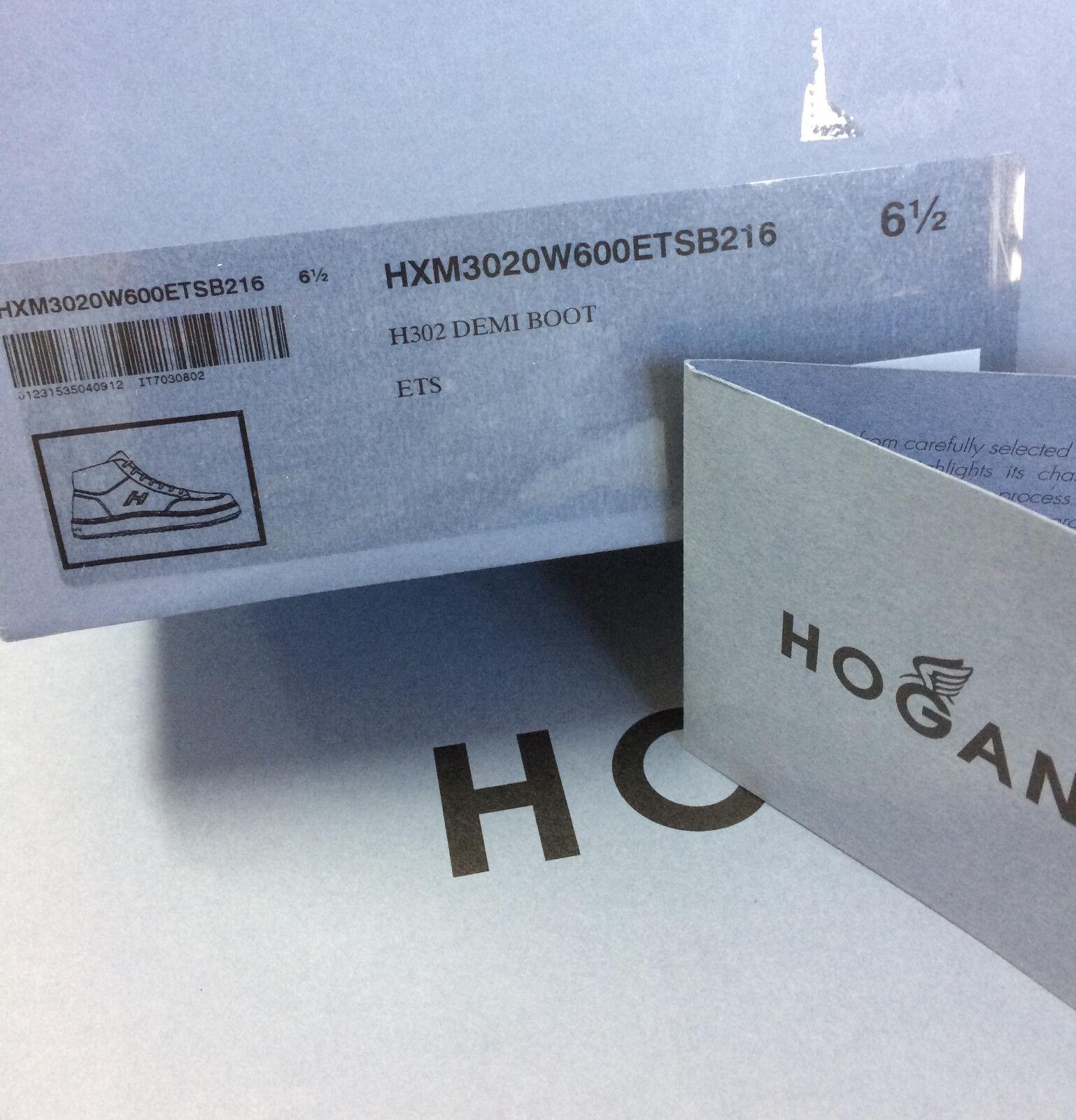 scarpe hogan polacco uomo tg. 6 5 ita 40 5 testa di moro nuove 100%  originali ff10cbb8c9f