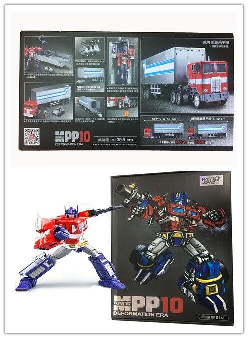 Optimus Prime MPP10 WEIJIANG MPP10 WEIJIANG Trailer OP Commander Transformers