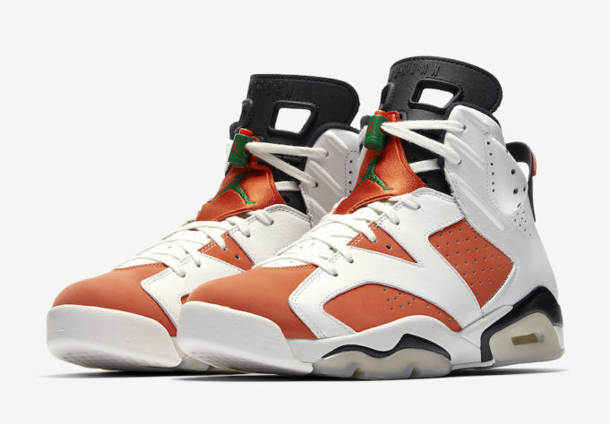 NEUF AIR JORDAN 6 GATORADE UK8.5EU43 RETRO NIKE nlpule4050