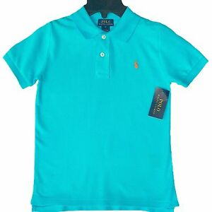 5afaeee1e Image is loading NWT-Boys-Ralph-Lauren-Blue-Polo-Shirt-top-