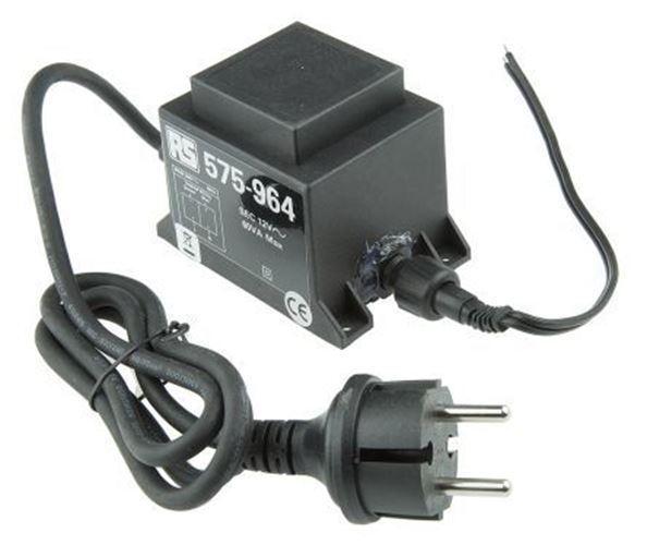 60 W Lumière Transformateur, 230 V AC, AC, AC, 12 V AC d8476e