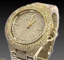 Michael Kors MK5720 Women's Camille Gold-Tone Pave Glitz Watch RRP £599