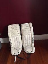 "simmons NHL Specs ice hockey goalie 32"" + 1"" leg pads"