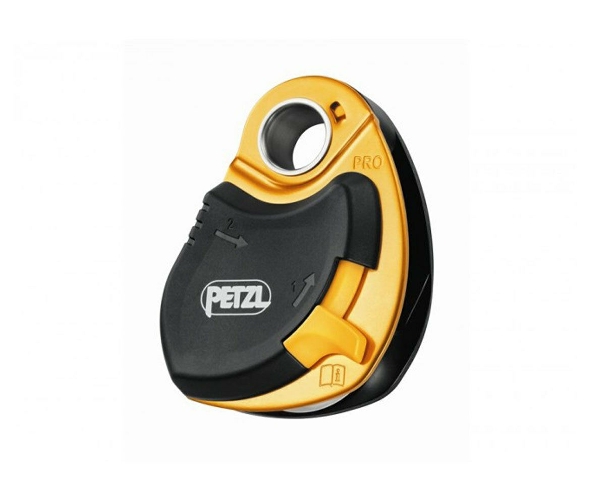 PRO PULLEY high-efficiency loss-resistant by PETZL