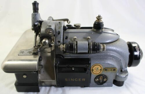 MACHINE NOT SUPPLIED 3  SINGER 246K CURVED NEEDLES