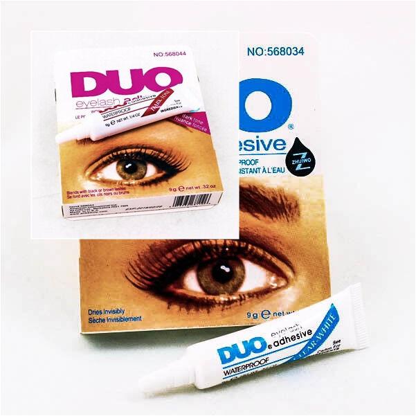 Upick 9g. White Clear Dark Tone DUO False Eyelash Adhesive Glue Waterproof A0167