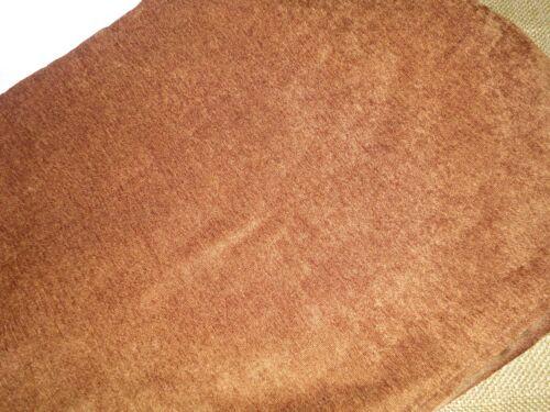 """CROSCILL SOUTHWESTERN SMOOTH CHENILLE KING BEDSKIRT SPLIT COPPER 14/"""""""