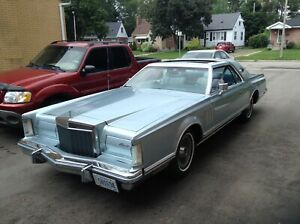 1978 Lincoln mark v diamond jubilee edition only 75,000 miles