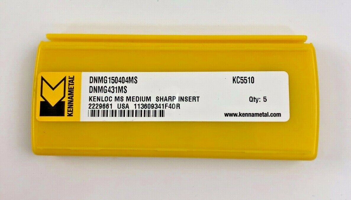 NEW Kennametal KNM 2244917 Grade KC5510 Indexable Insert WNMG431MS