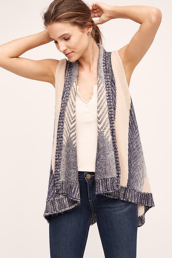 NWT Anthropologie Mabli Vest, by Sleeping on Snow - size XS S