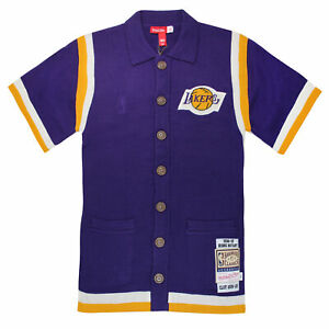 Details about Mitchell & Ness x CLOT M&N LA Lakers Shooting Shirt Kobe Bryant Knit Top