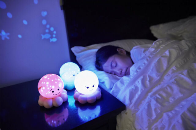 Cloud-B Twinkles to go Octo Pink Night Light
