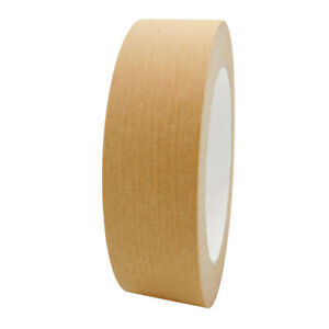 Self-Adhesive-Kraft-Paper-Framing-Tape-25mm-3-ROLLS