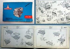 Deutz-F3L-912-Ersatzteilliste-Parts-Catalogue-1968-Bildkatalog