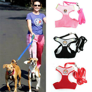 Small-Pets-Dog-Cat-Soft-Lead-Mesh-Harness-Puppy-Halter-Vest-Leash-Breathable-HOT