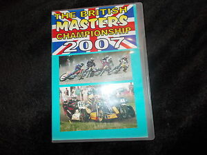 DVD THE BRITISH MASTERS CHAMPIONSHIP 2007 Cross Track Racing Hayes Southall MCC - rushden, Northamptonshire, United Kingdom - DVD THE BRITISH MASTERS CHAMPIONSHIP 2007 Cross Track Racing Hayes Southall MCC - rushden, Northamptonshire, United Kingdom