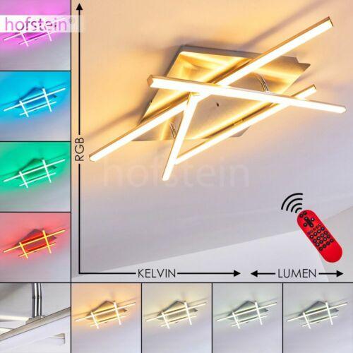 LED Farbwechsler Wohn Schlaf Zimmer Lampe dimmbar Decken Leuchten Fernbedienung